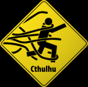 Cthulhu Road Hazard Sign