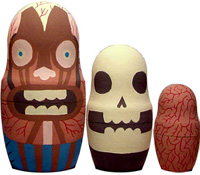 Anatomical Nesting Dolls