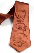 Skull Necktie