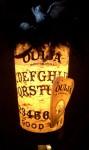 Ouija Lamp
