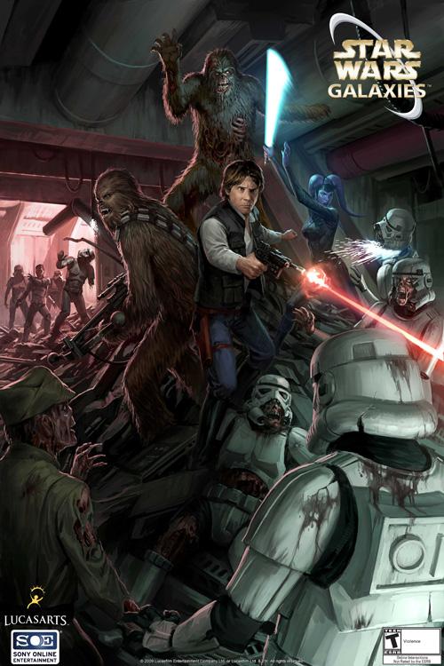Звездные войны зомби игры на двоих игра про толстых черепашек ниндзя