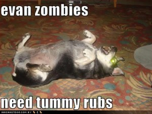 Zombie Tummy Rub