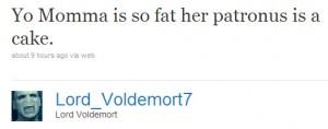 Voldemort on Twitter
