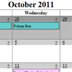 Goth Calendar