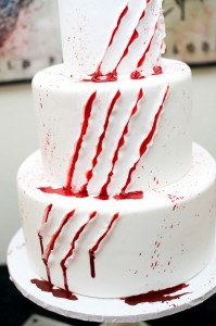 Scratched Cake
