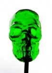 Absinthe Skull Pop