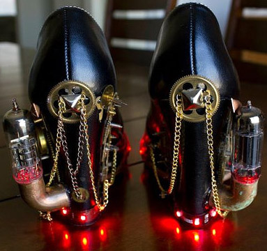 Steampunk Heels
