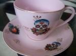 Skull Teacup