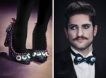 Eyeball Shoes and Bow Tie
