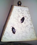Roaches on Lampshade