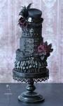 Goth Steampunk Cake