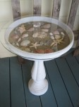Birdbath Table