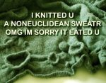 Noneuclidean Sweater